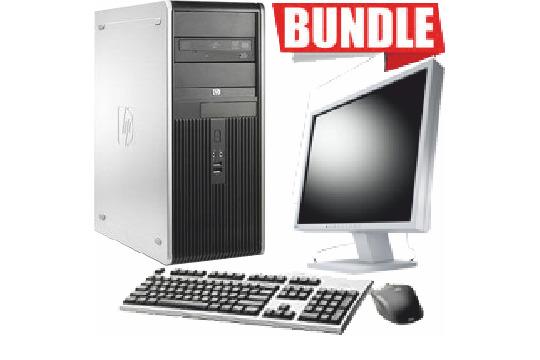 BUNDLE PC HP+MONITOR LG 19